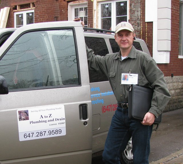 About Us Master Plumber Dmitry And A To Z Plumbing Drain